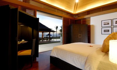 Jivana Beach Villas Jia At Jivana Bedroom with Pool View | Natai, Phang Nga