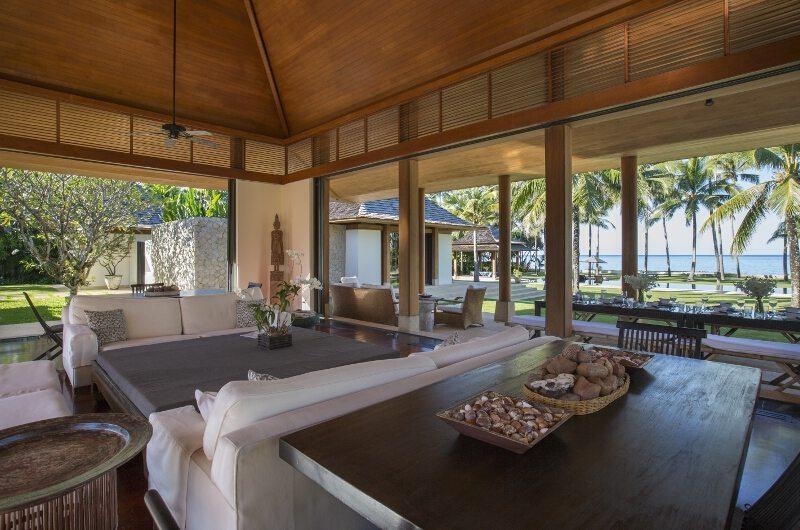 Jivana Beach Villas Shanti At Jivana Living Area   Natai, Phang Nga