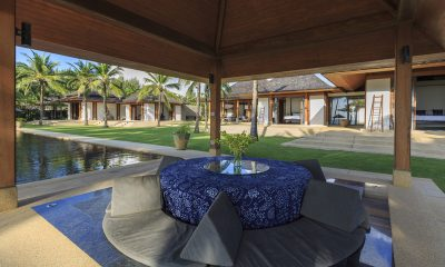 Jivana Beach Villas Shanti At Jivana Outdoor Dining Area | Natai, Phang Nga