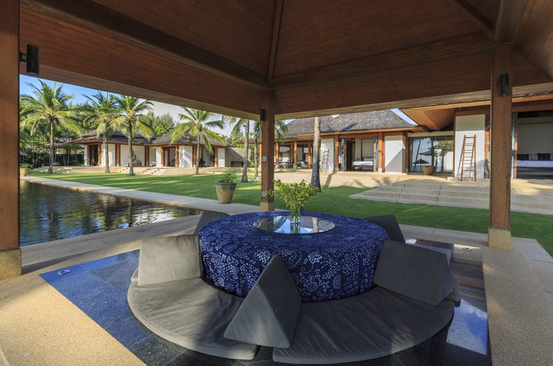 Jivana Beach Villas Shanti At Jivana Outdoor Dining Area | Natai, Phang Nga