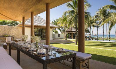 Jivana Beach Villas Shanti At Jivana Outdoor Dining | Natai, Phang Nga