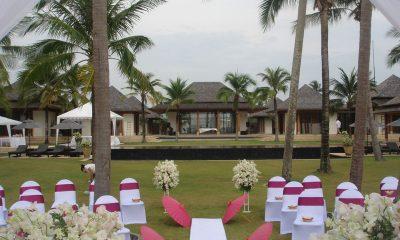 Jivana Beach Villas Shanti At Jivana Wedding Set Up | Natai, Phang Nga