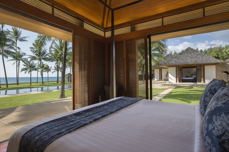 Jivana Beach Villas Shanti At Jivana Bedroom with Pool View | Natai, Phang Nga