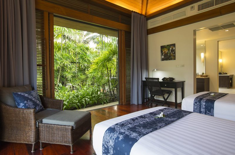 Jivana Beach Villas Shanti At Jivana Twin Bedroom | Natai, Phang Nga
