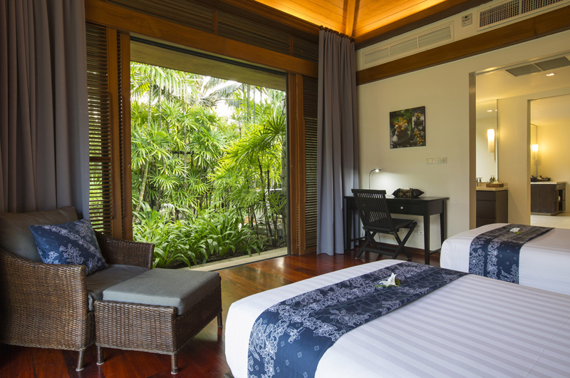 Jivana Beach Villas Shanti At Jivana Twin Bedroom   Natai, Phang Nga