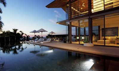 Sava Beach Villas Aqua Villa Night View | Natai, Phang Nga