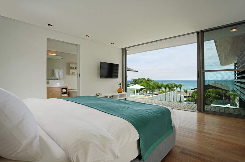 Sava Beach Villas Aqua Villa Bedroom with Sea View | Natai, Phang Nga