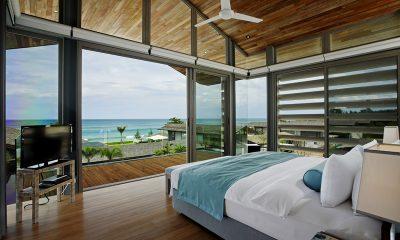 Sava Beach Villas Aqua Villa Bedroom and Balcony   Natai, Phang Nga