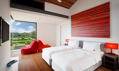 Sava Beach Villas Aqua Villa Twin Bedroom | Natai, Phang Nga