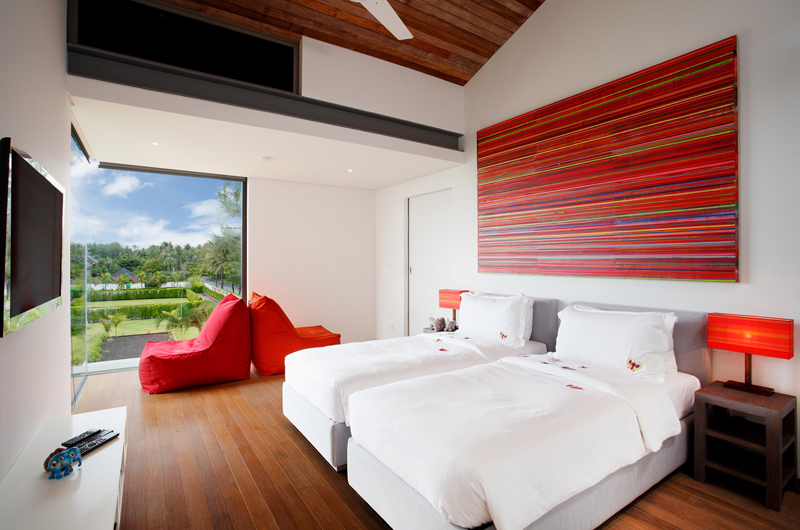 Sava Beach Villas Aqua Villa Twin Bedroom | Natai, Phang Nga