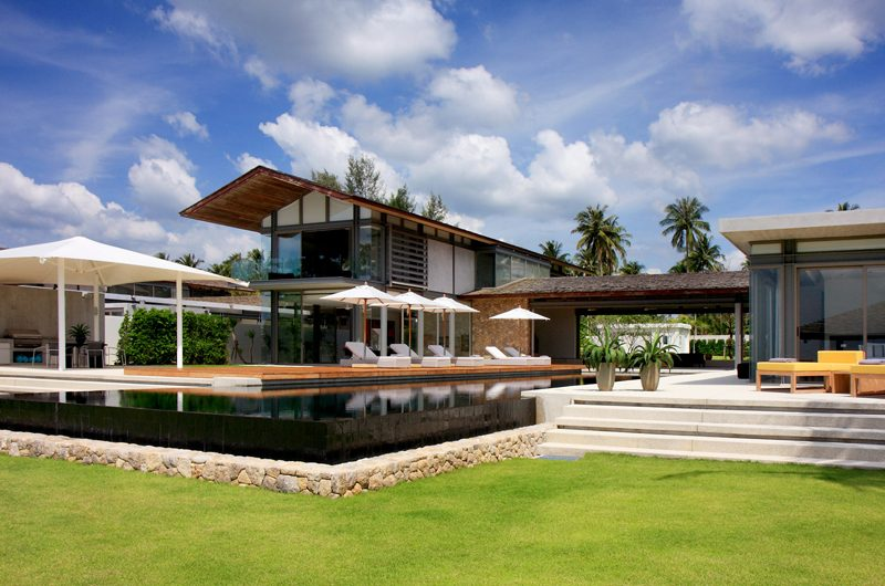Sava Beach Villas Villa Amarelo Lawns | Natai, Phang Nga