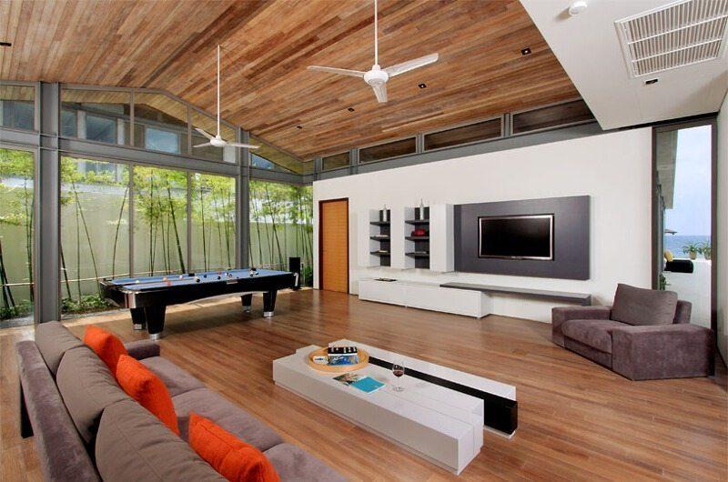 Sava Beach Villas Villa Amarelo Entertainment Room | Natai, Phang Nga