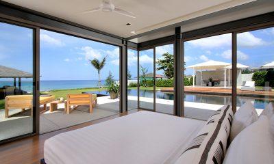 Sava Beach Villas Villa Amarelo Bedroom with Pool View   Natai, Phang Nga