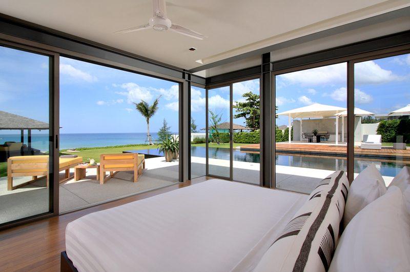 Sava Beach Villas Villa Amarelo Bedroom with Pool View | Natai, Phang Nga