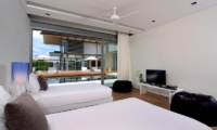 Sava Beach Villas Villa Amarelo Twin Bedroom | Natai, Phang Nga