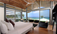 Sava Beach Villas Villa Amarelo Bedroom and Balcony | Natai, Phang Nga