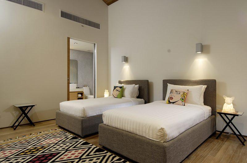 Sava Beach Villas Villa Essenza Twin Bedroom and En-suite Bathroom | Natai, Phang Nga