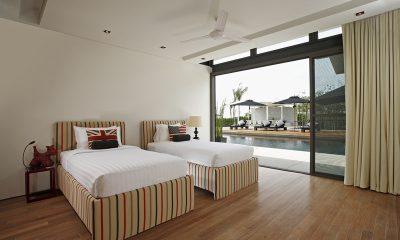 Sava Beach Villas Villa Essenza Twin Bedroom with Pool View   Natai, Phang Nga