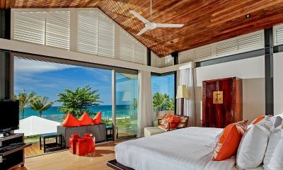 Sava Beach Villas Villa Malee Sai King Size Bed with View | Natai, Phang Nga