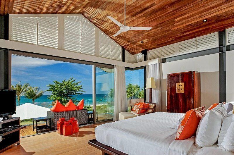 Sava Beach Villas Villa Malee Sai King Size Bed with View | Natai, Phang Nga