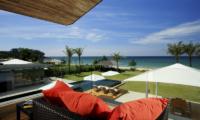Sava Beach Villas Villa Malee Sai Balcony | Natai, Phang Nga