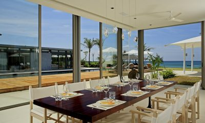 Sava Beach Villas Villa Malee Sai Pool Side Dining   Natai, Phang Nga