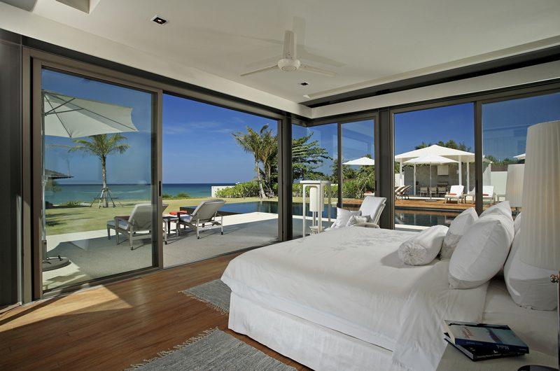 Sava Beach Villas Villa Malee Sai Bedroom with Pool View | Natai, Phang Nga