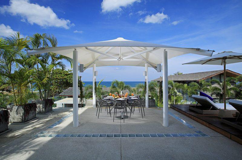 Sava Beach Villas Villa Roxo Outdoor Dining   Natai, Phang Nga