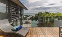 Sava Beach Villas Villa Roxo Balcony   Natai, Phang Nga