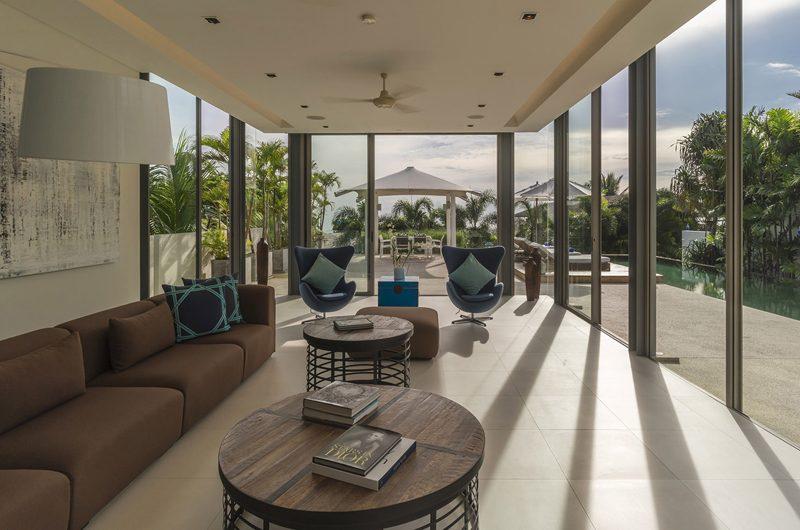 Sava Beach Villas Villa Roxo Pool Side Living Area | Natai, Phang Nga