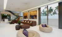 Sava Beach Villas Villa Roxo Living Area   Natai, Phang Nga
