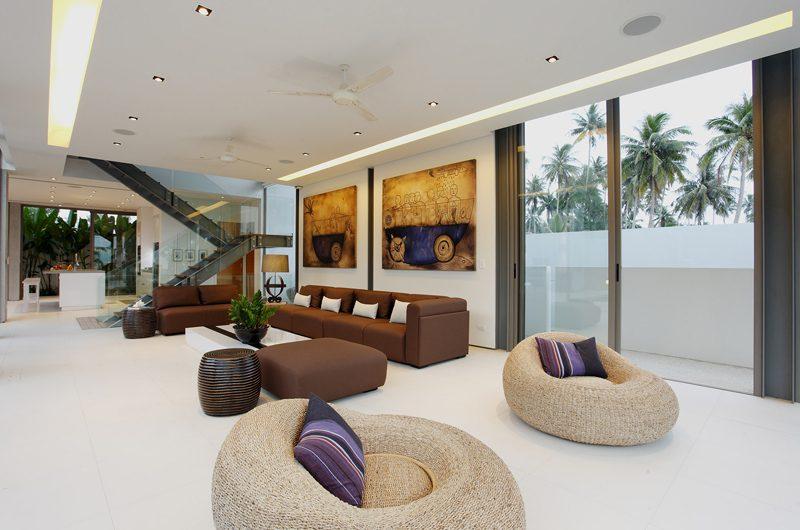 Sava Beach Villas Villa Roxo Living Area | Natai, Phang Nga