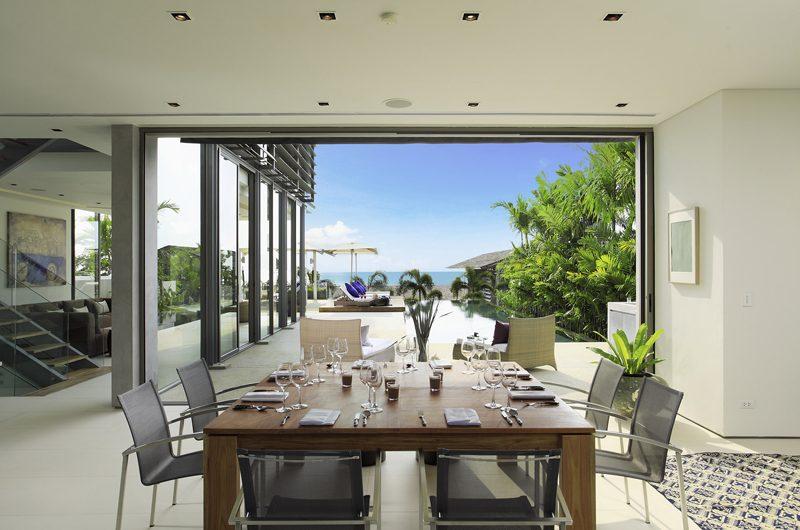 Sava Beach Villas Villa Roxo Pool Side Dining | Natai, Phang Nga