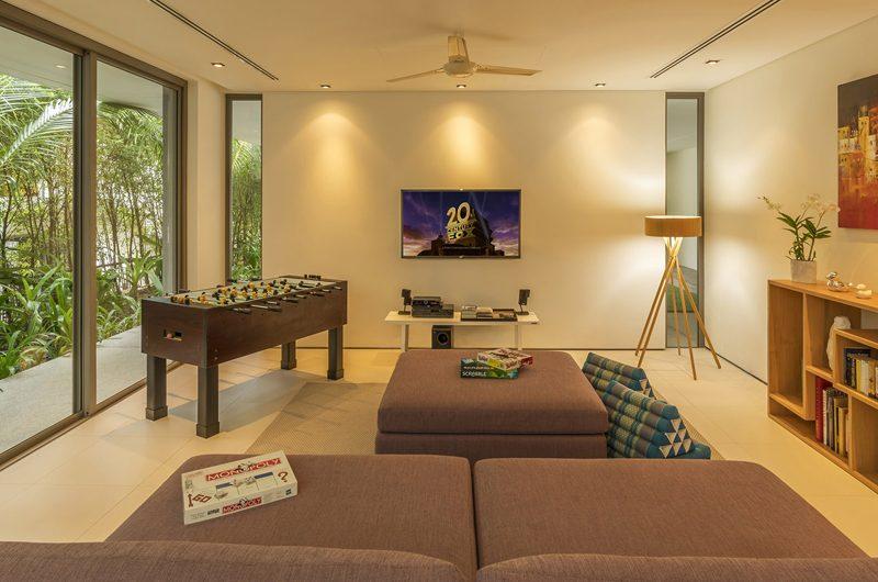 Sava Beach Villas Villa Roxo Cinema Room | Natai, Phang Nga