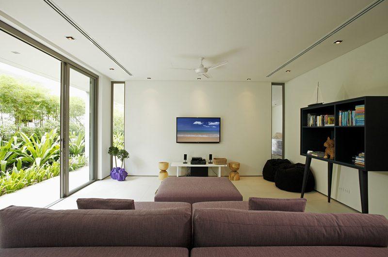 Sava Beach Villas Villa Roxo Media Room | Natai, Phang Nga