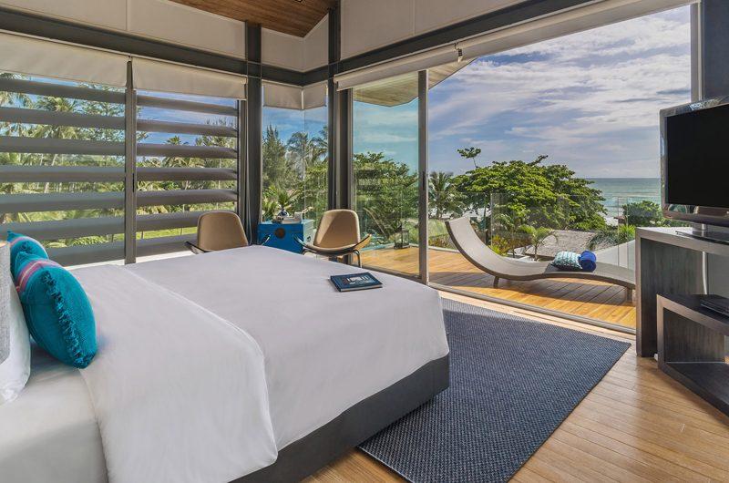 Sava Beach Villas Villa Roxo Bedroom with TV | Natai, Phang Nga