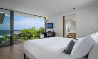 Sava Beach Villas Villa Roxo Bedroom and Balcony | Natai, Phang Nga
