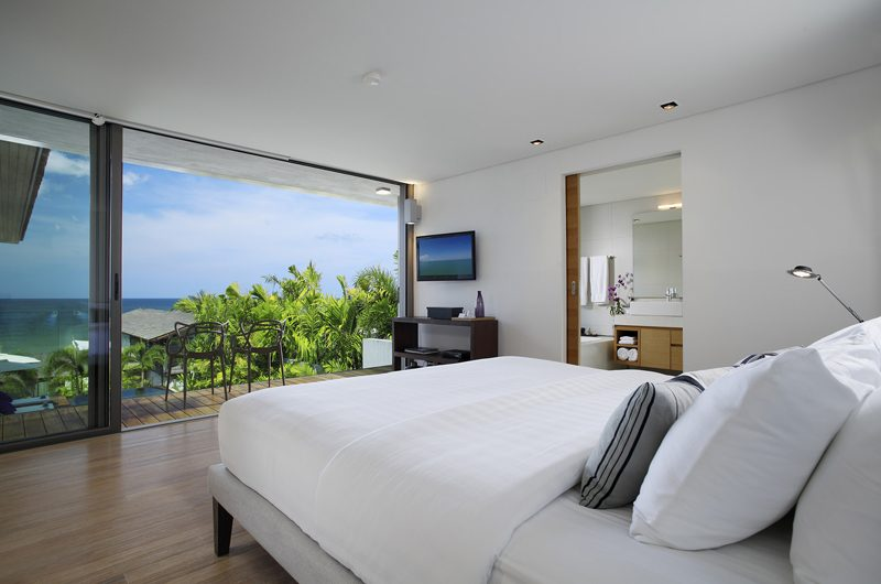 Sava Beach Villas Villa Roxo Bedroom and Balcony   Natai, Phang Nga