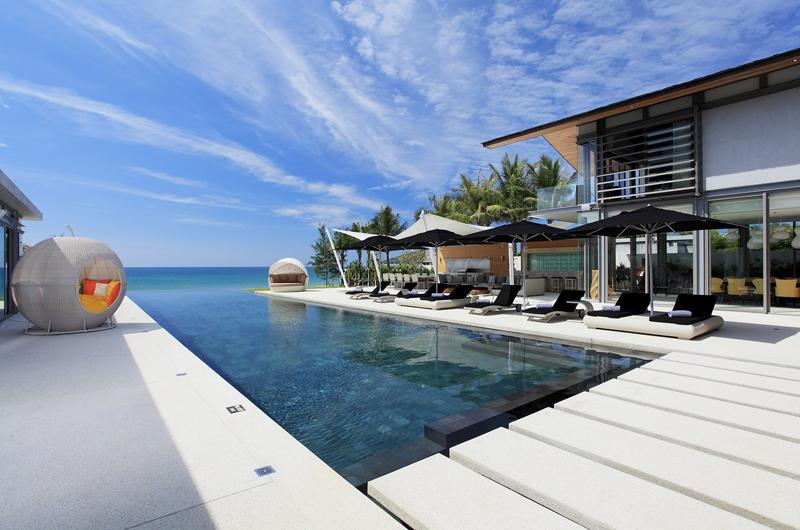 Sava Beach Villas Villa Tievoli Swimming Pool | Natai, Phang Nga