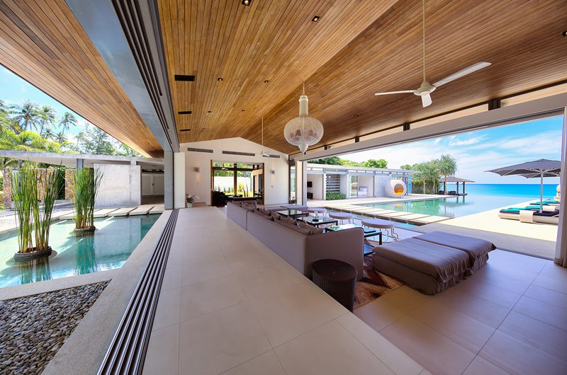 Sava Beach Villas Villa Tievoli Open Plan Living Room | Natai, Phang Nga