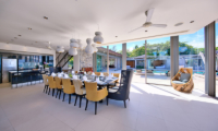Sava Beach Villas Villa Tievoli Kitchen and Dining Area | Natai, Phang Nga