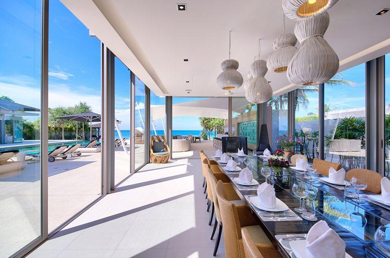 Sava Beach Villas Villa Tievoli Dining Area | Natai, Phang Nga