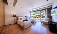 Sava Beach Villas Villa Tievoli Twin Bedroom | Natai, Phang Nga