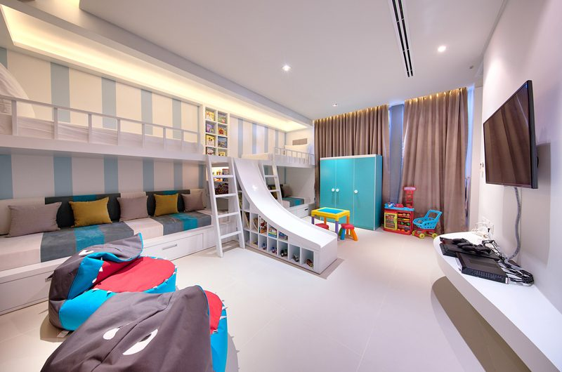 Sava Beach Villas Villa Tievoli Kids Bedroom | Natai, Phang Nga