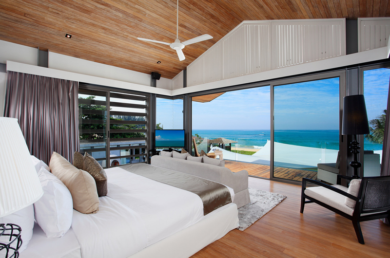 Sava Beach Villas Villa Tievoli King Size Bed with View | Natai, Phang Nga