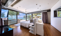 Sava Beach Villas Villa Tievoli Bedroom and Balcony | Natai, Phang Nga