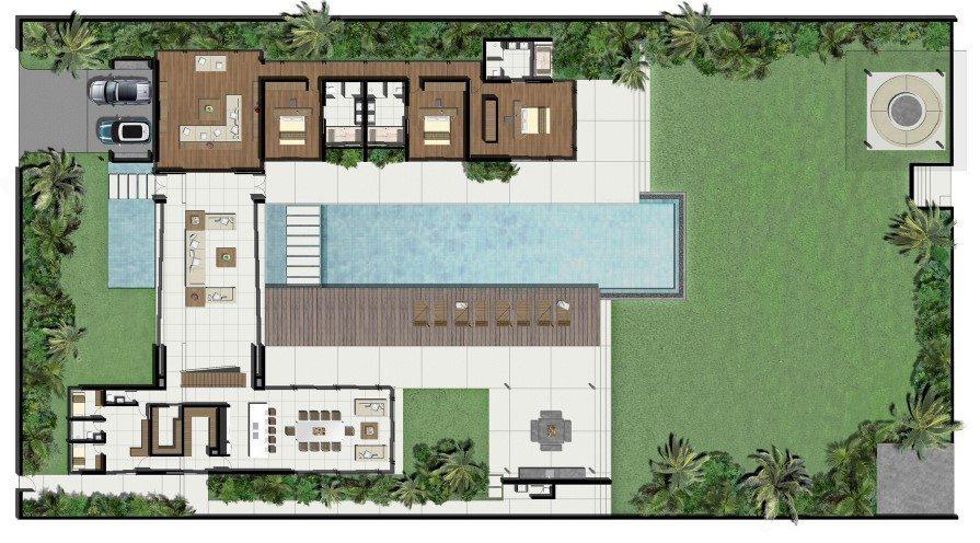 Villa Essenza Floorplan | Natai, Phang Nga