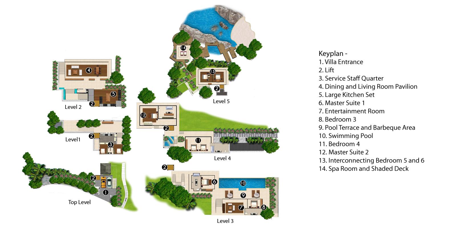Villa Minh Floorplan | Kamala, Phuket