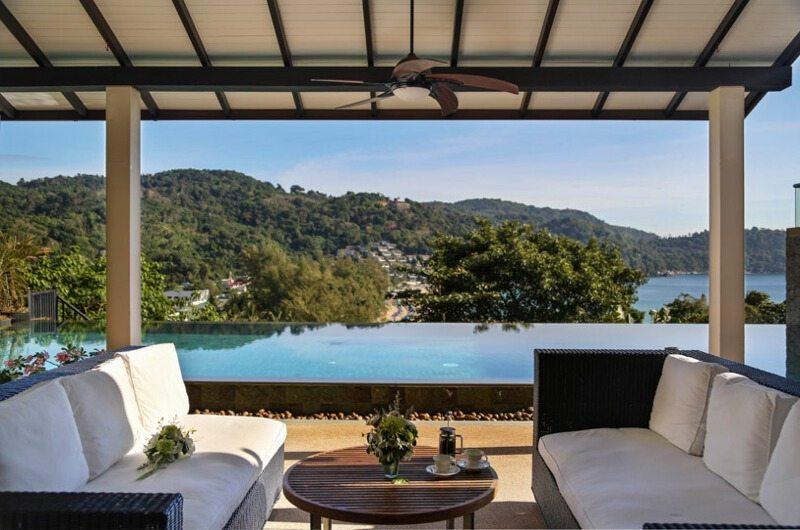 Villa Amanzi Kata Noi Seating | Phuket, Thailand