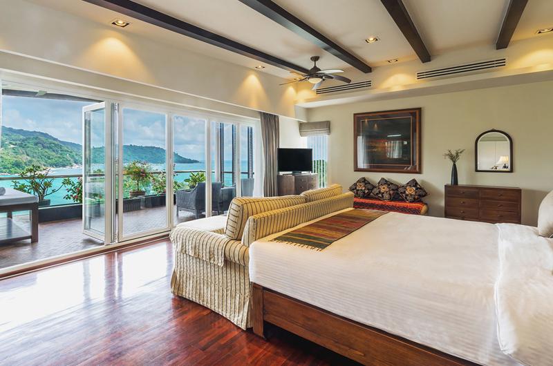 Villa Amanzi Kata Noi Master Bedroom with Sea View | Kata, Phuket
